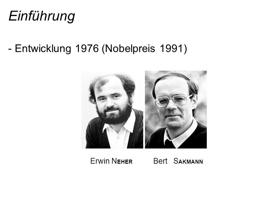 Einführung - Entwicklung 1976 (Nobelpreis 1991)