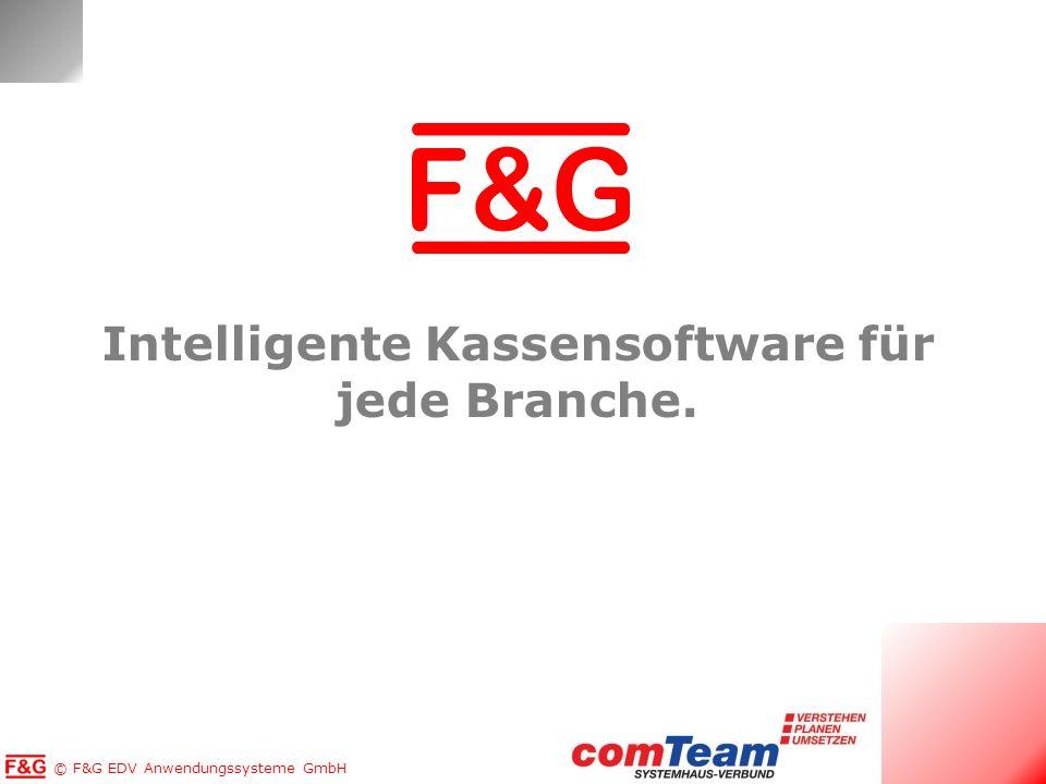 Intelligente Kassensoftware für jede Branche.