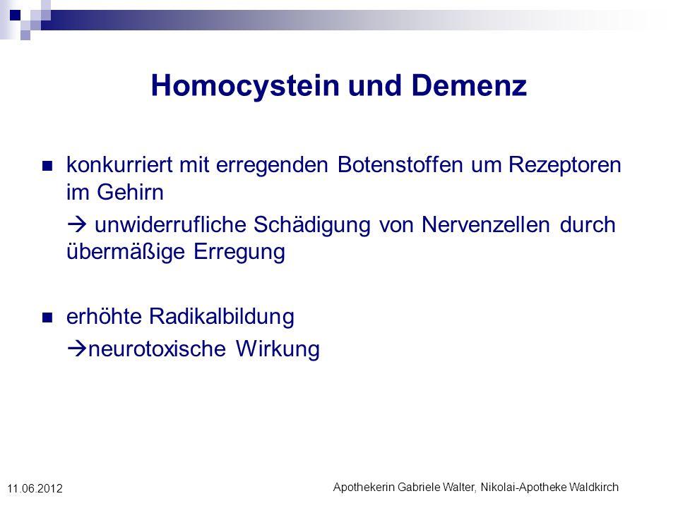 Homocystein und Demenz