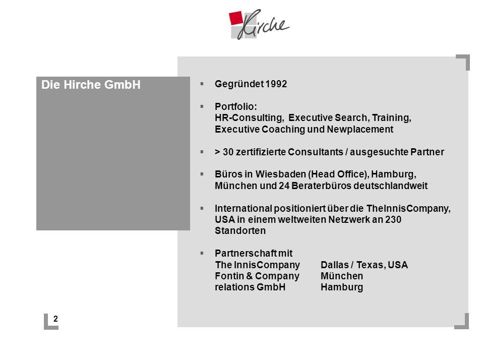 Die Hirche GmbH Gegründet 1992