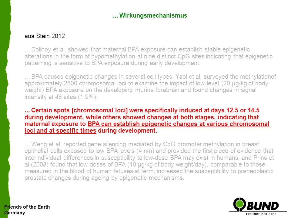 ... Wirkungsmechanismus aus Stein 2012