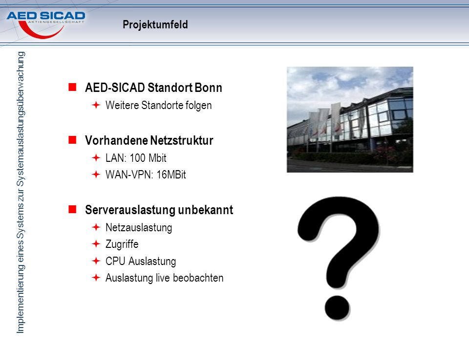 AED-SICAD Standort Bonn