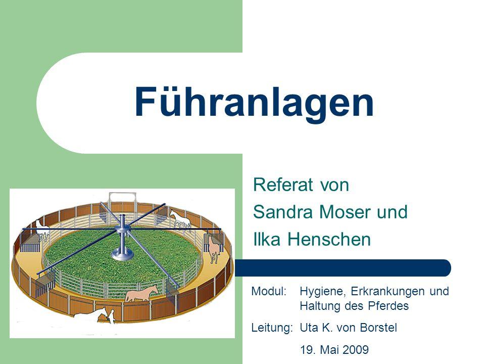 Referat von Sandra Moser und Ilka Henschen
