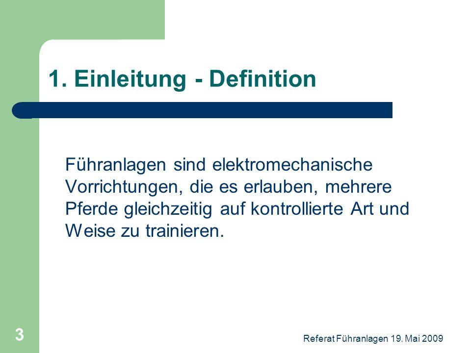 1. Einleitung - Definition