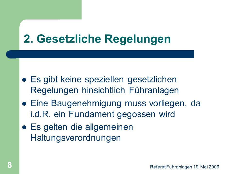 2. Gesetzliche Regelungen