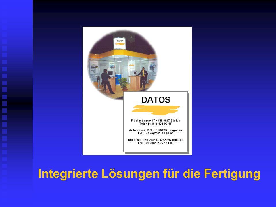 Integrierte Lösungen für die Fertigung