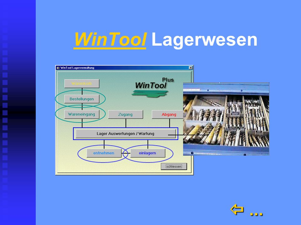 WinTool Lagerwesen