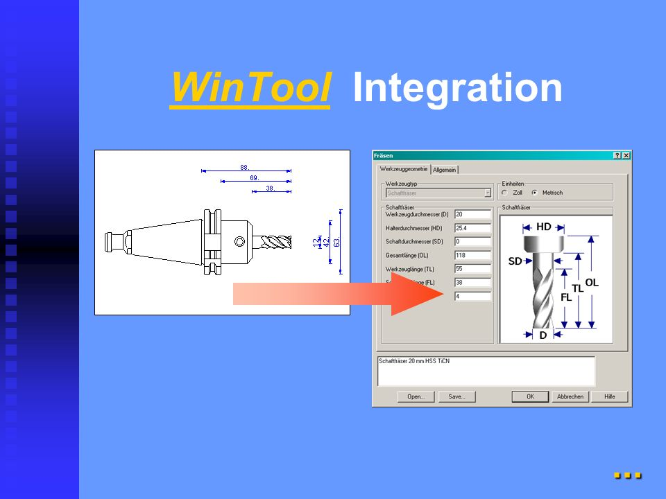 WinTool Integration
