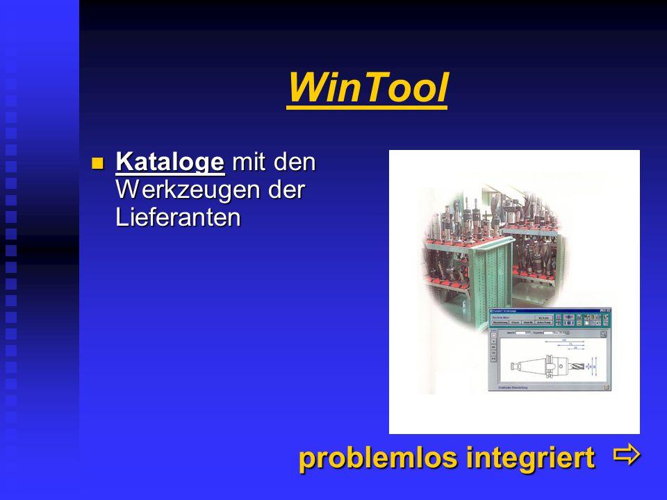 WinTool problemlos integriert 