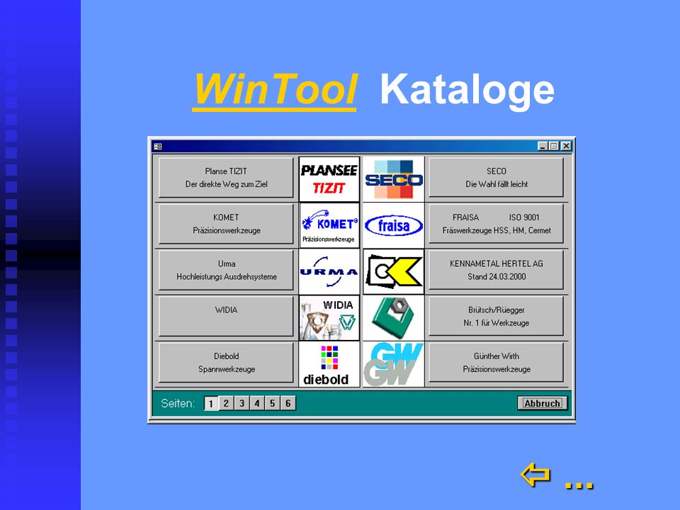 WinTool Kataloge  ...