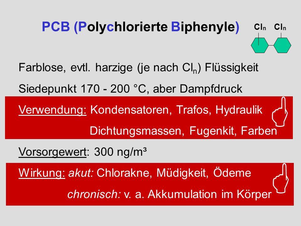 PCB (Polychlorierte Biphenyle)