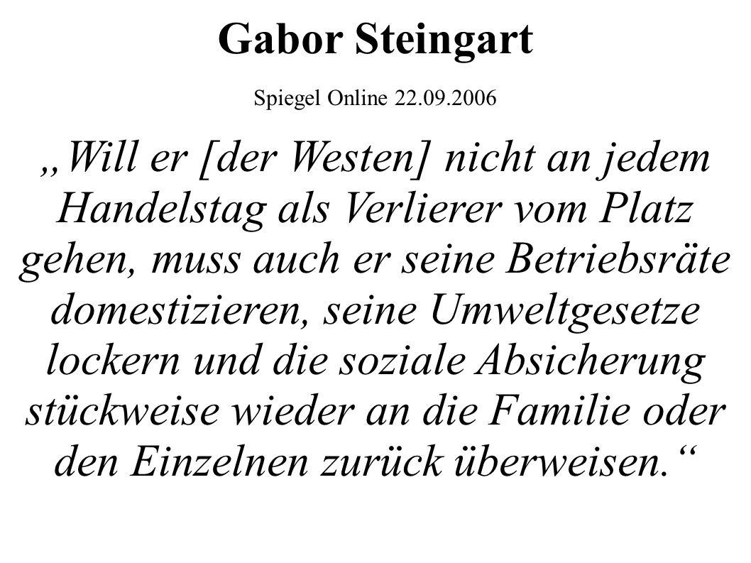 Gabor Steingart Spiegel Online 22.09.2006.