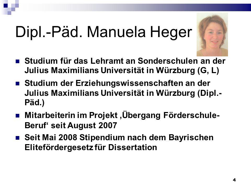 Dipl.-Päd. Manuela Heger