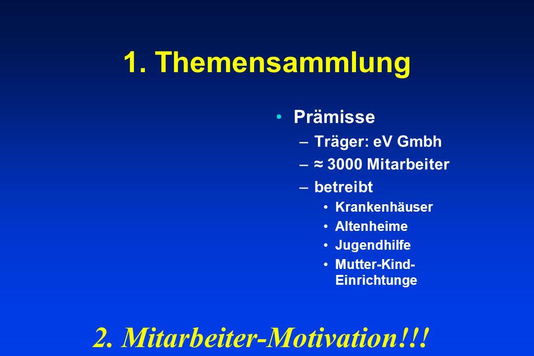 2. Mitarbeiter-Motivation!!!