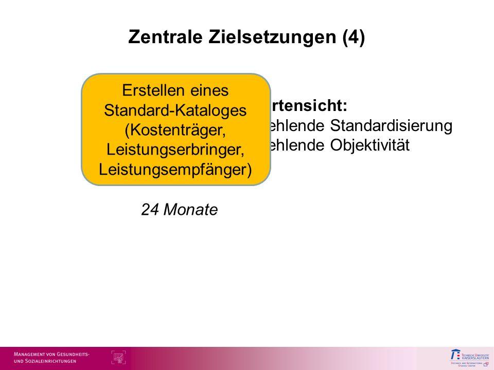 Zentrale Zielsetzungen (4)