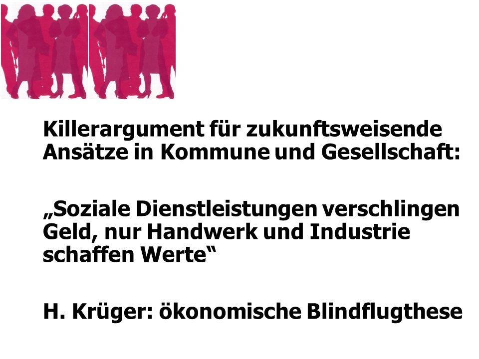 H. Krüger: ökonomische Blindflugthese