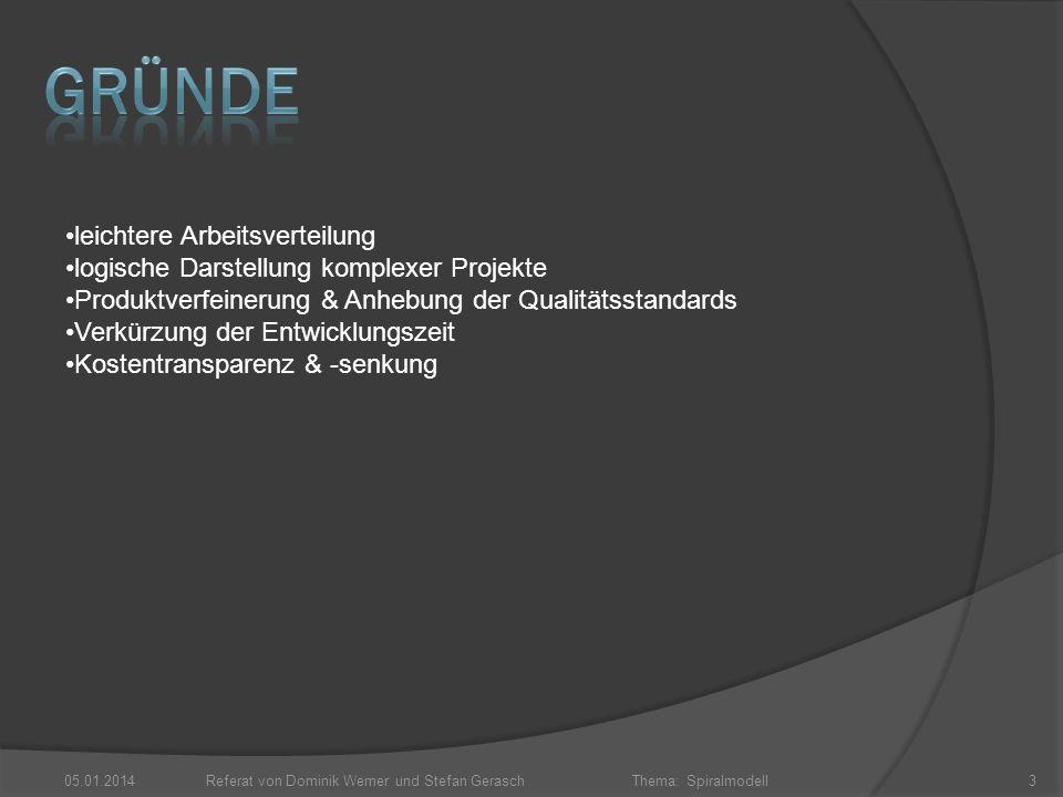 Referat von Dominik Werner und Stefan Gerasch