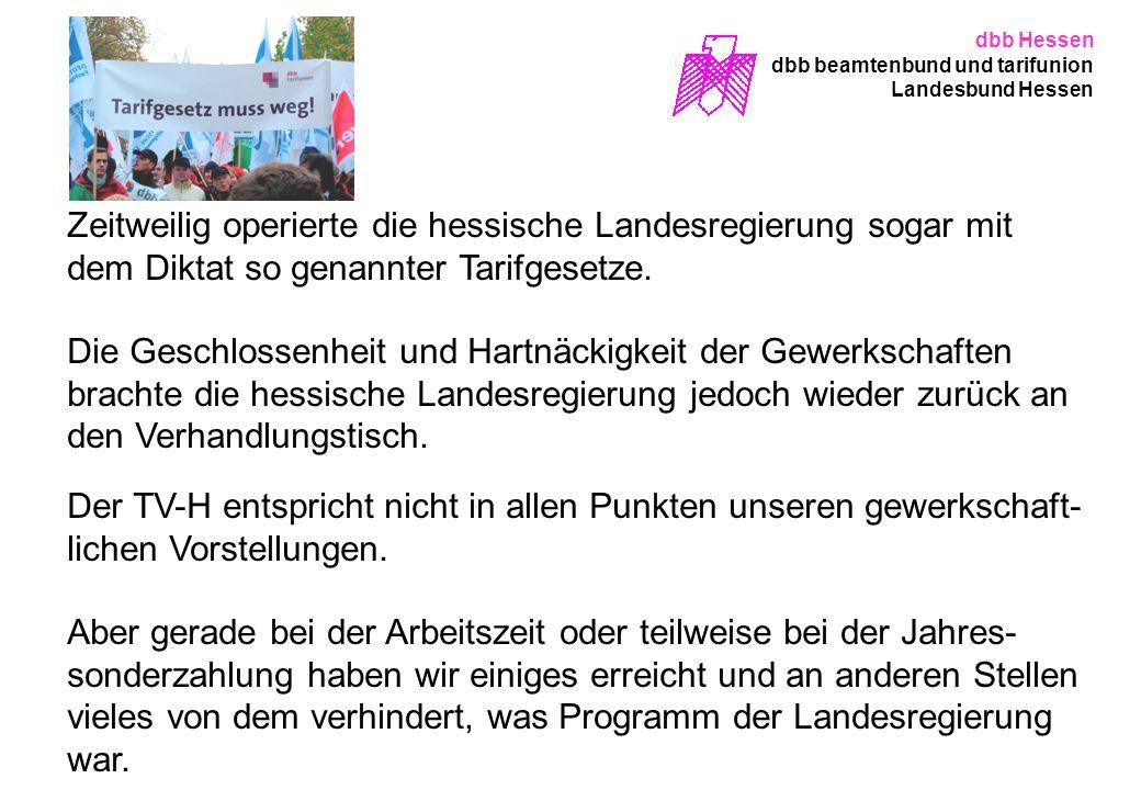 dbb Hessen dbb beamtenbund und tarifunion. Landesbund Hessen.