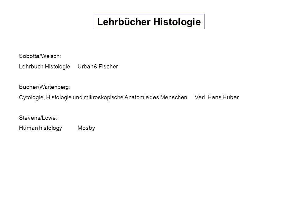 Lehrbücher Histologie