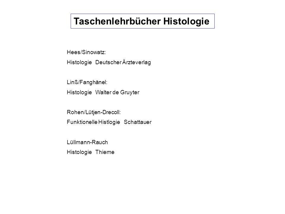 Taschenlehrbücher Histologie