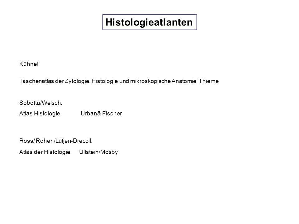 Histologieatlanten Kühnel: