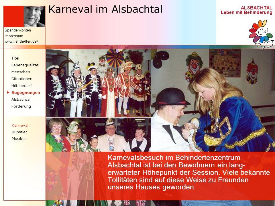 Karneval im Alsbachtal