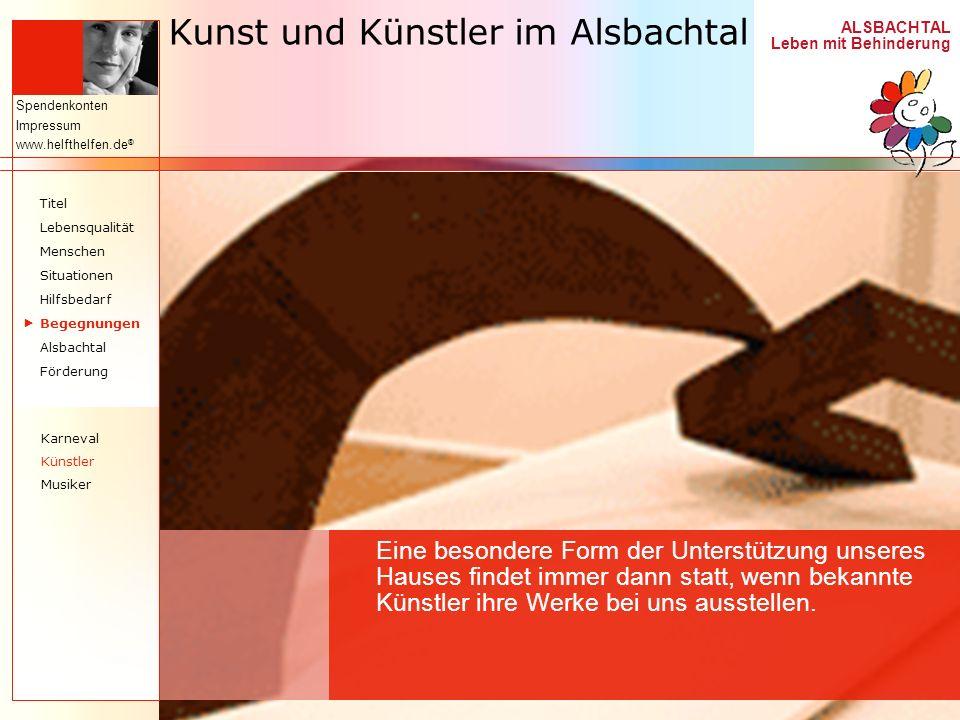 Kunst und Künstler im Alsbachtal