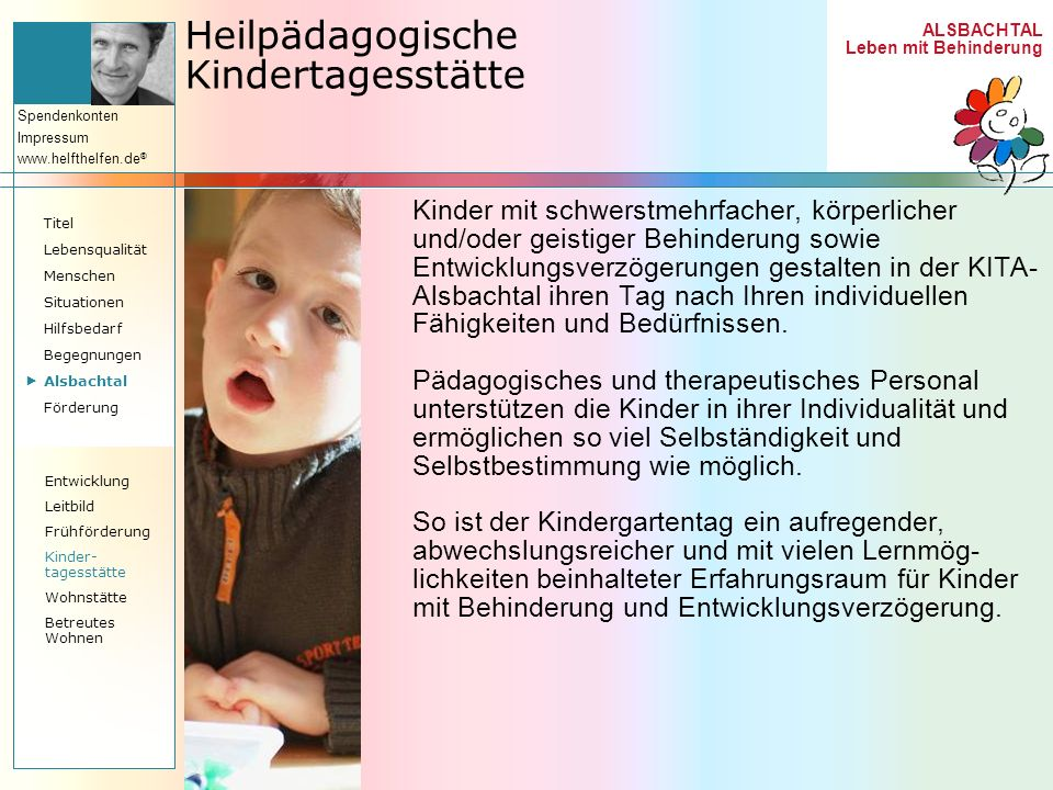 Heilpädagogische Kindertagesstätte
