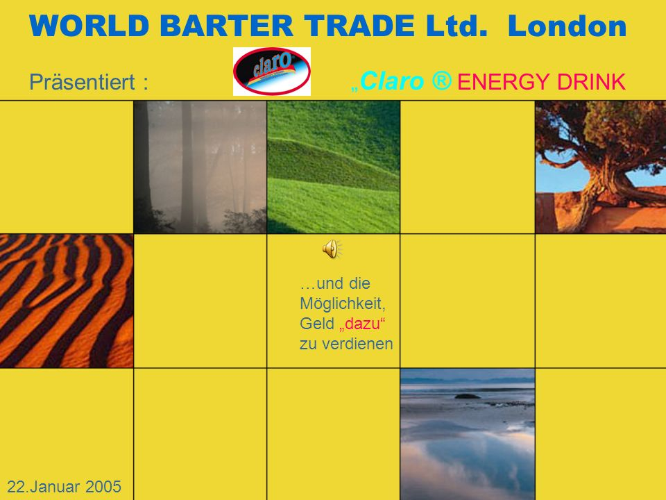 WORLD BARTER TRADE Ltd. London