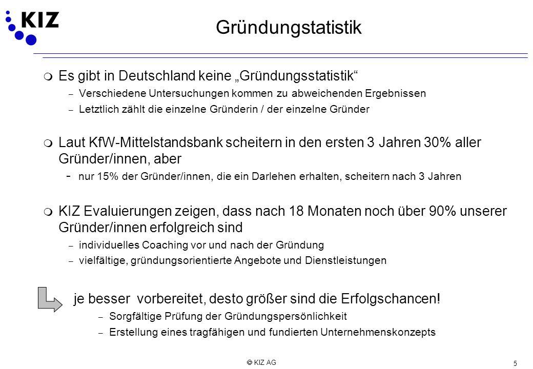 """Gründungstatistik Es gibt in Deutschland keine """"Gründungsstatistik"""