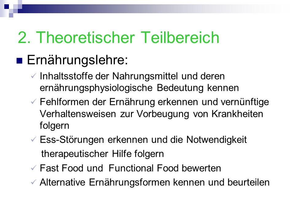 2. Theoretischer Teilbereich