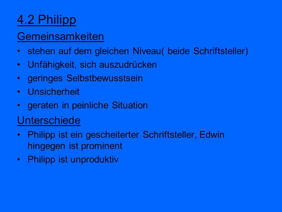 4.2 Philipp Gemeinsamkeiten Unterschiede