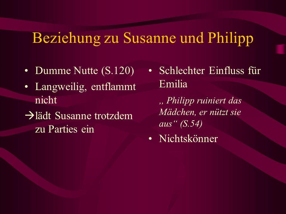 Beziehung zu Susanne und Philipp