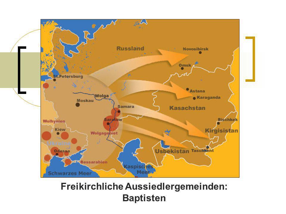 Freikirchliche Aussiedlergemeinden: Baptisten