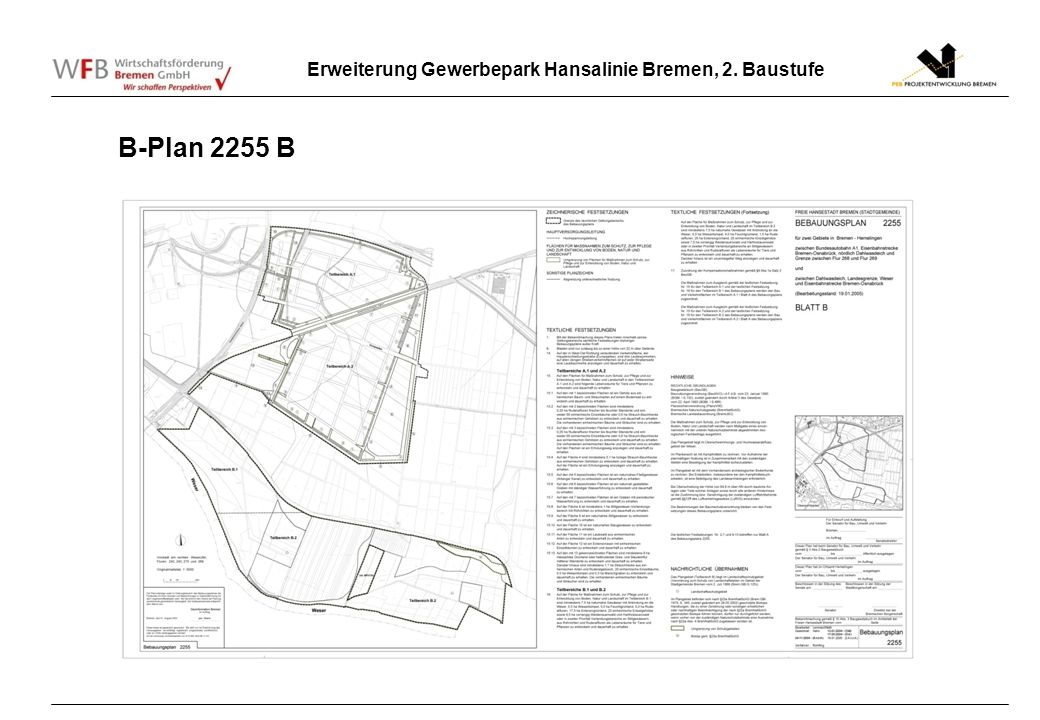B-Plan 2255 B