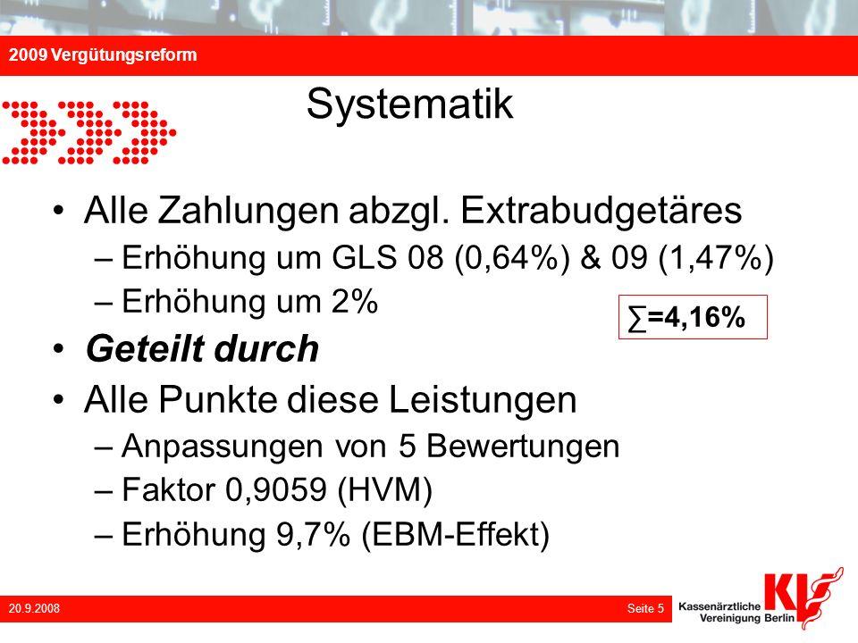 Systematik Alle Zahlungen abzgl. Extrabudgetäres Geteilt durch