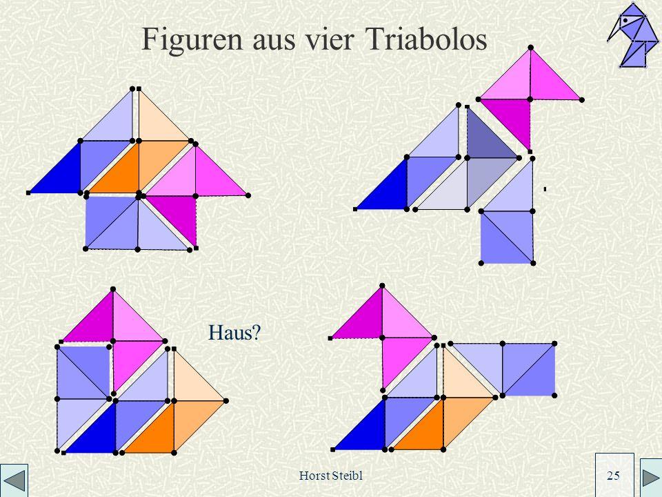 Figuren aus vier Triabolos