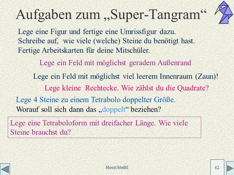 """Aufgaben zum """"Super-Tangram"""