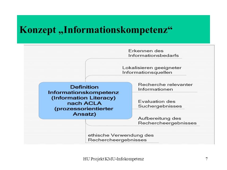 "Konzept ""Informationskompetenz"