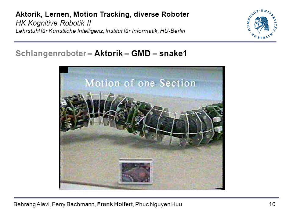 Schlangenroboter – Aktorik – GMD – snake1