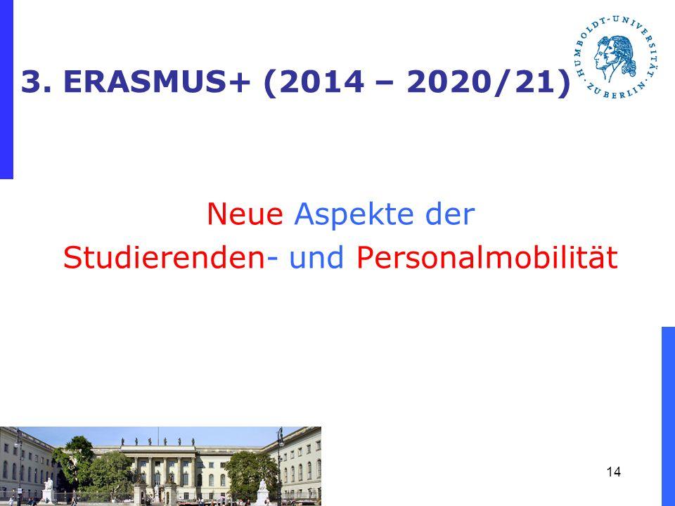 Neue Aspekte der Studierenden- und Personalmobilität
