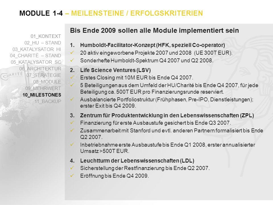 Bis Ende 2009 sollen alle Module implementiert sein