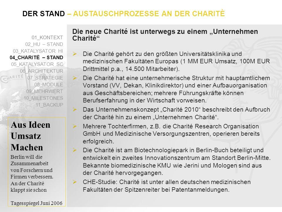 """Die neue Charité ist unterwegs zu einem """"Unternehmen Charité"""