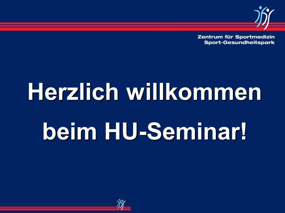 Herzlich willkommen beim HU-Seminar!