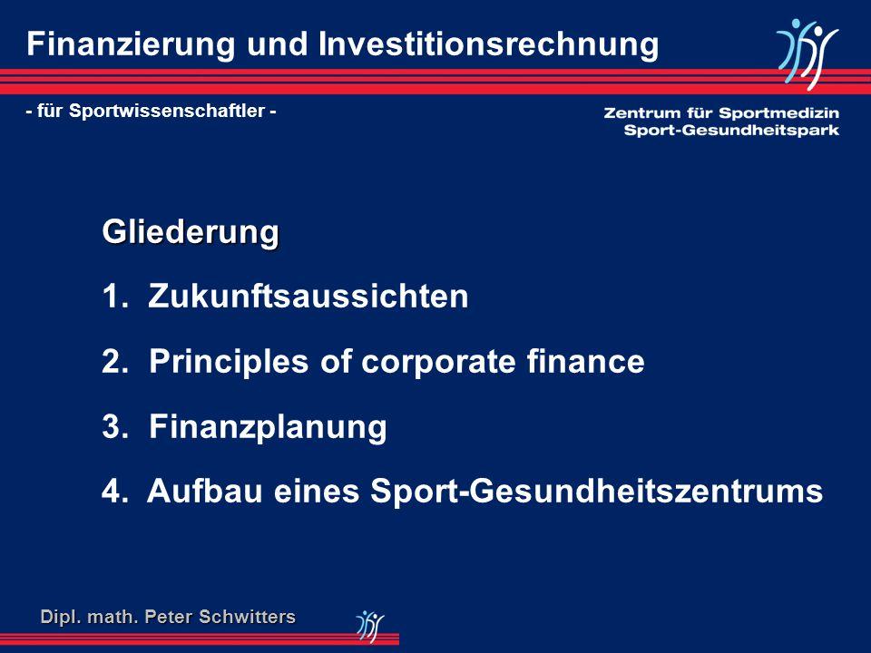 Finanzierung und Investitionsrechnung