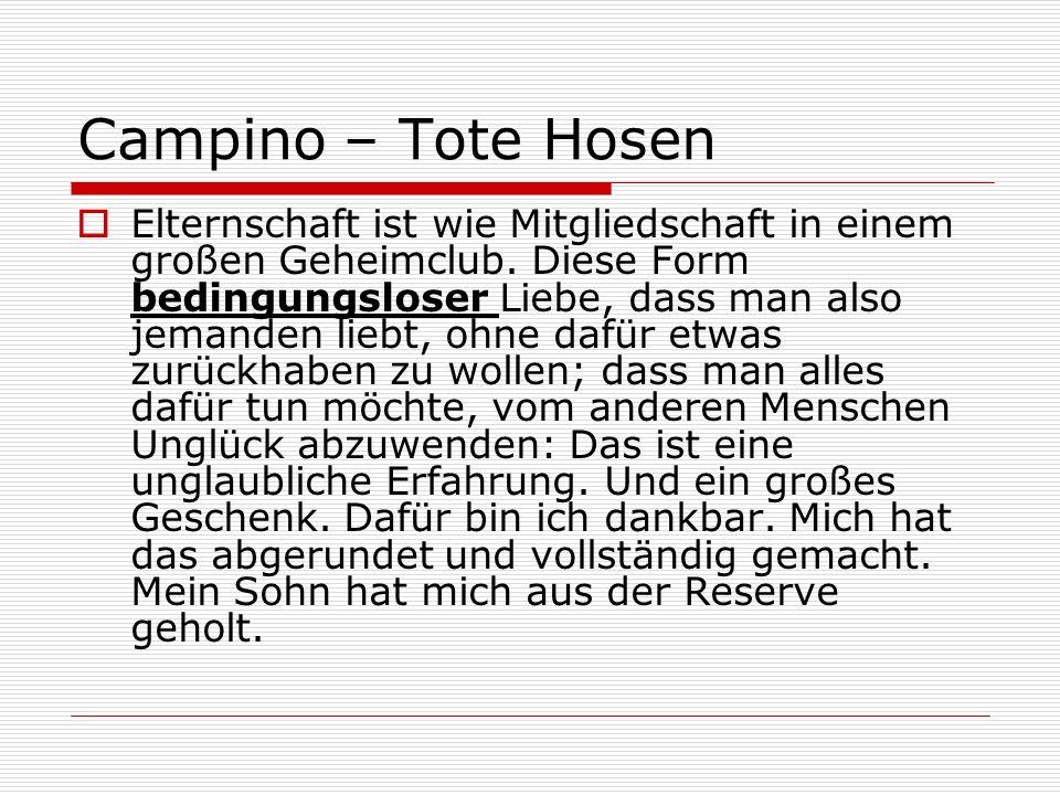 Campino – Tote Hosen