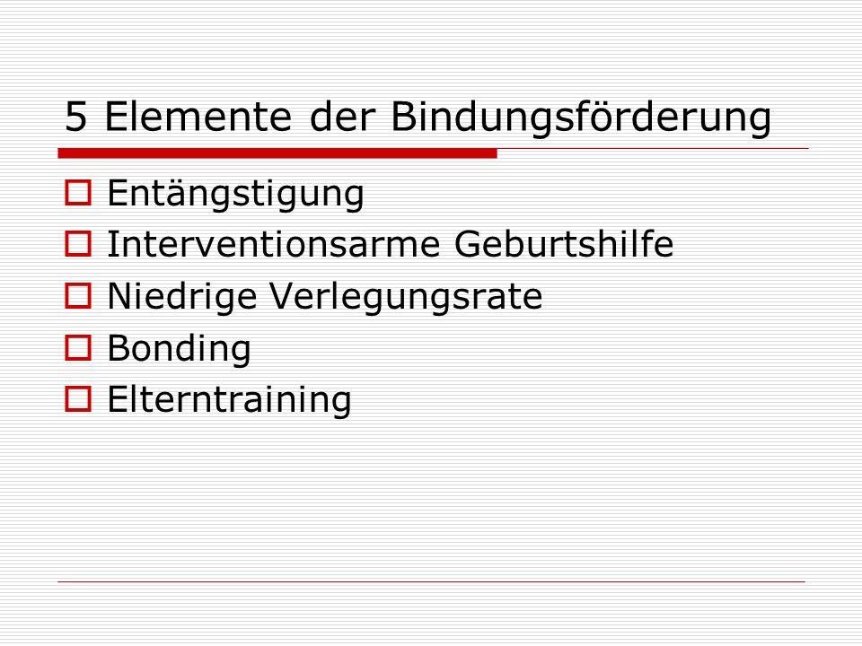 5 Elemente der Bindungsförderung