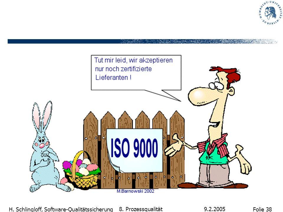 8. Prozessqualität 9.2.2005