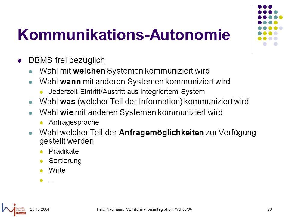 Kommunikations-Autonomie