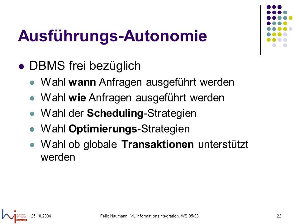 Ausführungs-Autonomie